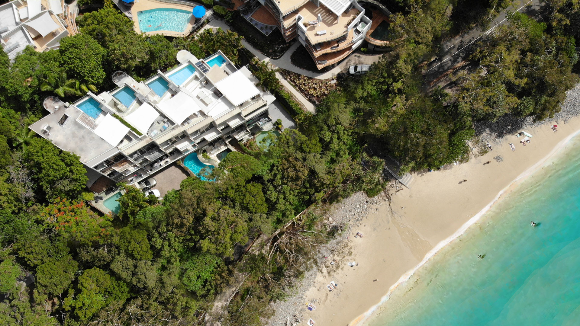 Little Cove Beach and Little Cove Apartments