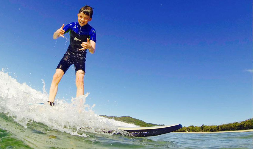 Noosa Learn-to-Surf
