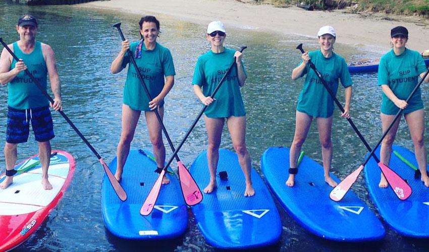 Paddleboarding Noosa